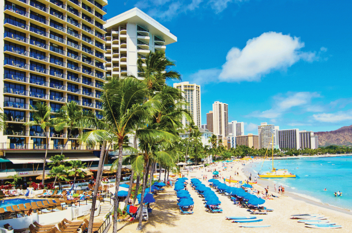 Billede av hotellet Outrigger Waikiki On The Beach - nummer 1 af 7