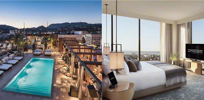 Billede av hotellet Dream Hollywood - nummer 1 af 71